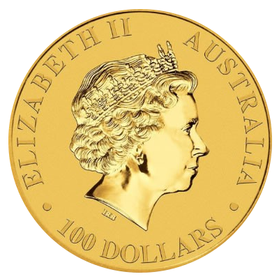 Kangaroo gold coin - 1000 AUD Nominal value