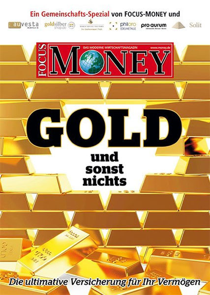 Gold - and nothing else - inflation? No problem? As if! The monetary devaluation is ubiquitous