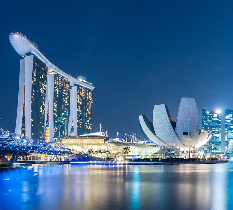 International storage of precious metals in high-security vaults - Singapore - Brink's Singapore